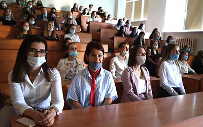 1 сентября в ОмГПУ в онлайн-формате прошел День знаний
